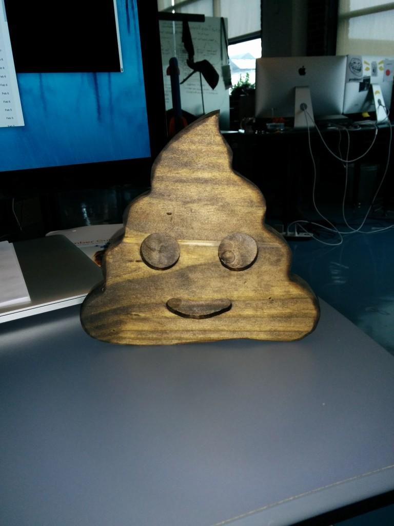 wooden :poop: